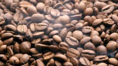 Roasting Coffee Beans — Stock Video