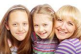 Família feliz. — Fotografia Stock
