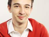Handsome young man portrait — Stock Photo