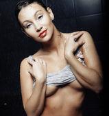 Genç seksi striptiz dansçısı — Stok fotoğraf