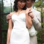 The walk of newlyweds — Stock Photo #75205581