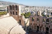 The Odeon of Herodes Atticus theatre in Athens — Stock Photo