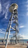 The launch tower at the end of Bournemouth Pier, United Kingdom — Stock Photo