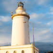Lighthouse in Malaga in Andalusia, Spain — Stock Photo #63507477