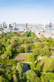 ROTTERDAM, NETHERLANDS - May 10: Cityscape from the Euromast tower in Rotterdam, Netherlands on May 10, 2015. — Stock Photo