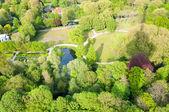 Het Park in Rotterdam aus der Euromast — Stockfoto