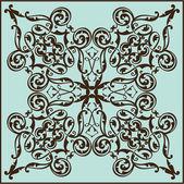 Baroque element — Stock Vector