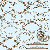 Victorian style element — Stock Vector