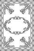 Victorian Ornate Page — Stock Vector