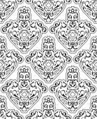 Ornate seamless victorian art — Stock Vector