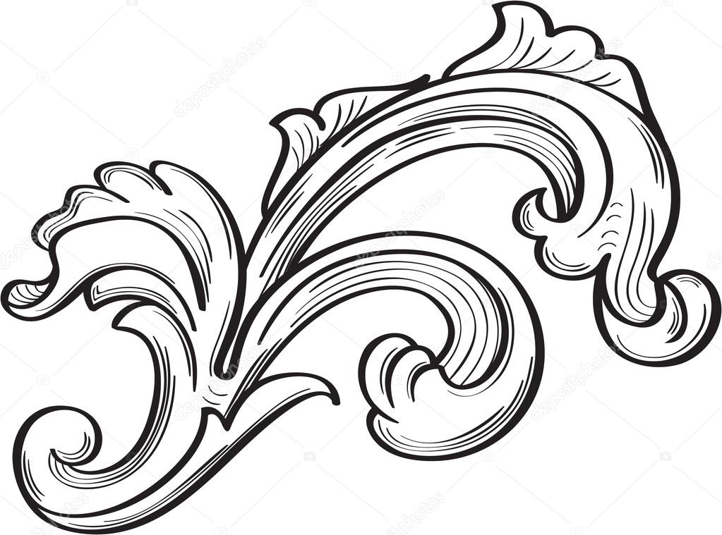 acanthus leaf scroll - photo #11