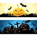 Set of Halloween Banners — Stock Vector #52767205