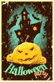 Halloween Poster — Stock vektor