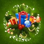 Christmas Greeting Card — Stock Vector #55508265
