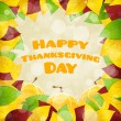 Happy Thanksgiving Day card — Stock Vector #55509099