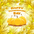 Happy Thanksgiving Day card — Stock Vector #55509409