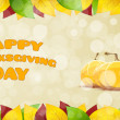 Happy Thanksgiving Day card — Stock Vector #55509523