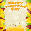 Happy Thanksgiving Day card — Stock Vector #55510177