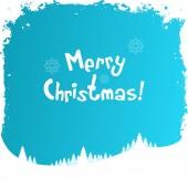Grungy Christmas Greeting Card — Stock Vector