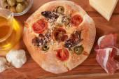 Italská focaccia chléb — Stock fotografie
