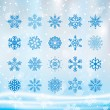 Christmas  Snowflake — Stock Vector #58335411