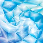Blue Crystal Background — Stock Vector
