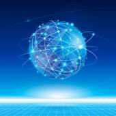 全球网络 — 图库矢量图片