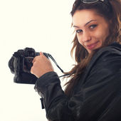 Sweet Photographer — Stock Photo