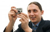 Digital photographing — Stock Photo