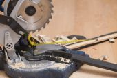 Electric saw — Stock Photo