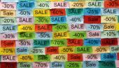 Sale  tagcloud — Stock Photo