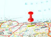 Castrillon ,Spain map — Stock fotografie