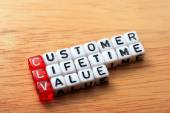 CLV-Customer Lifetime Value — Stok fotoğraf