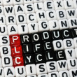 PLC ,Product Life Cycle — Stock Photo #66662829