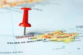 Mallorca  Island ,Spain map — Stock Photo