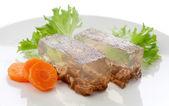 Beef aspic — Stock Photo