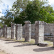 Hall of the Thousand Pillars - Columns at Chichen Itza, Mexico — Stock Photo #60152849