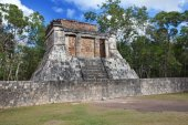 Chichen Itza pyramid, Yucatan, Mexico — Stock Photo