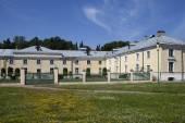 Oranienbaum (Lomonosov). Top park. Cavalry case — Stock Photo