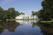 Pavilion Chinese palace. Oranienbaum (Lomonosov). Upper park — Stock Photo