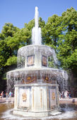 Petrodvorets. Fountain — Stock Photo