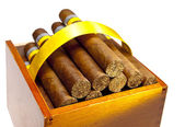 The Cuban cigars, hand mad — Stock Photo