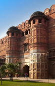 Inde. Agra. Fort rouge. — Photo