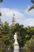 Cuba. Havana. Statue of Carlos Manuel de Cespedes — Stock Photo