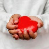 Forme de coeur rouge — Photo
