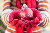 Christmas Decoration Ball — Stock Photo