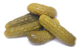 Salted cucumbers — Stock Photo