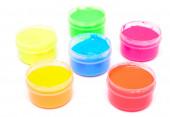 Prstem barvy — Stock fotografie