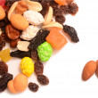Fruit and nut mixture — Stock Photo #74481331