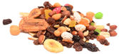 Fruit and nut mixture — Stock Photo